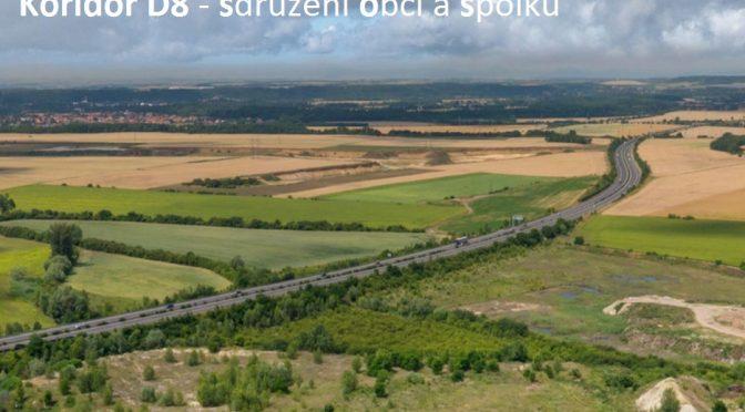 Naše obec se připojuje ke sdružení obcí a spolků Koridor D8